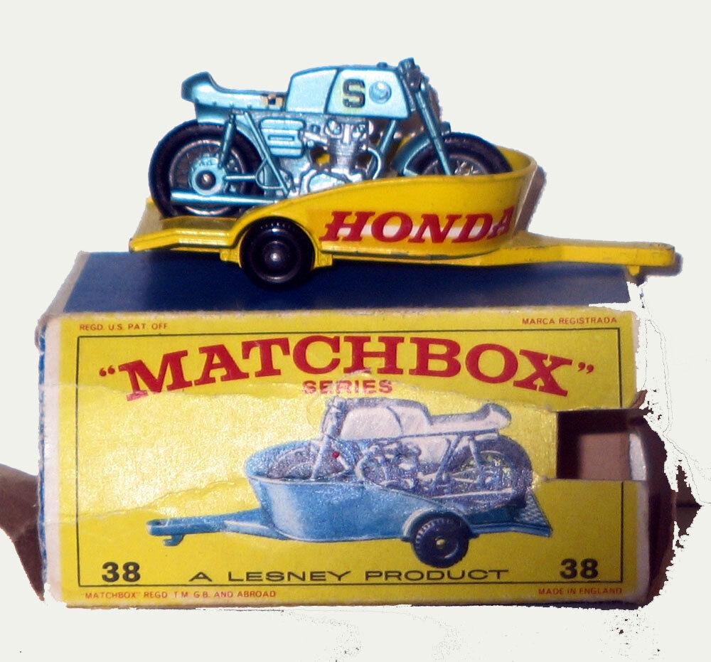 MATCHBOX REMORQUE HONDA Ref 38 LIVRAISON MONDE ENTIER
