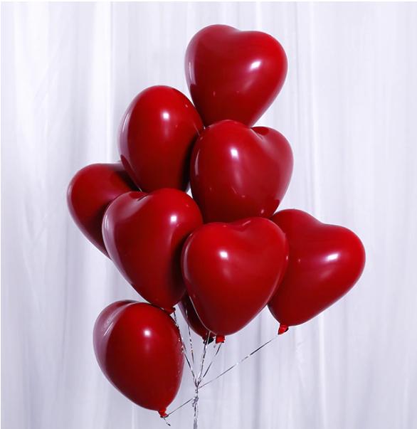 25pcs DIY rainbow latex balloons wedding Valentine/'s Day birthday party decor H#
