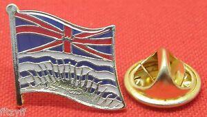 britannique-COLOMBIE-PAYS-revers-Drapeau-Chapeau-bonnet-Cravate-epinglette