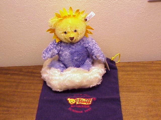 Steiff Bear  THE FOUR SEASONS   Summer 1997 Limited Edition  Button in Ear