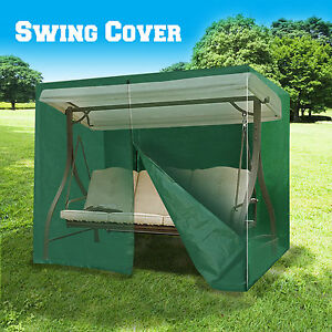 New Outdoor Furniture Porch Set 3 Seater Size Swing Cover