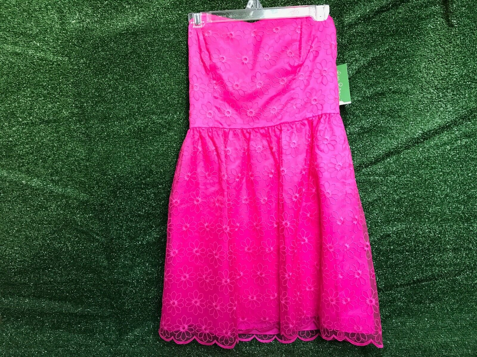 NWT Lilly Pulitzer Payton Sweetheart Strapless Dress (Size 8) (Style )