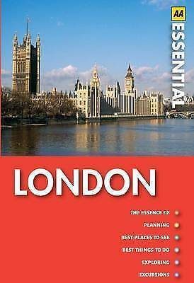Essential London (AA Essential Guides), AA Publishing, Very Good Book