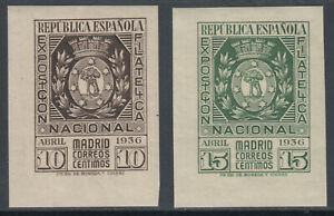 Serie-Exposition-de-Madrid-727-728-Annee-1936