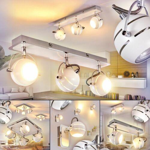 LED Flur Dielen Strahler Chrom-weiß Decken Lampe Wohn Schlaf Zimmer Beleuchtung