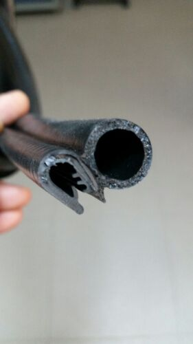 10m schwarz 1-4 mm Dichtungsprofil  Kantenschutz  moosgummi kofferraum