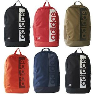 668dbf562ce2 Image is loading Adidas-Linear-Performance-Backpack-Sports-School-Bag- Rucksack-