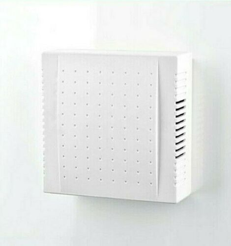 220V Office Hotel Door Bell 108x108x36mm ABS//PC Wired Panel Clear Sound Doorbell