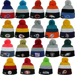 cheap for discount d95bf a0795 Image is loading New-Era-NFL-TRIBLOCK-Collection-Pom-Cold-Weather-