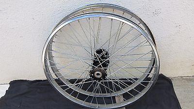 "TWO 24"" TRIKE REAR SUNLITE WHEELS 36 HOLE REAR HUB  TRICYCLE ADULT BICYCLE"