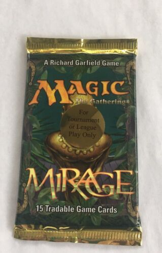 1 Mirage Tournament Play Exclusive Sealed Booster Pack Mtg Magic English Rare
