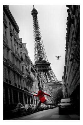 PRINT POSTER travel ORIENT EXPRESS VENICE PARIS TRAIN EIFFEL TOWER LFMP0002
