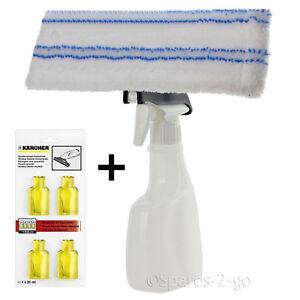 Botella-de-spray-para-Karcher-WV50-Window-Vacio-Pano-almohadilla-cubierta-Limpiador-Capsulas