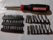 Craftsman Hand Tools 50 Pc Magnetic Torx Handle Screwdriver Nut Driver Set