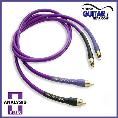 New Analysis Plus Oval One RCA interconnect pair 1.0M