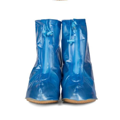 High Heel Shoes Cover for Women Rainproof Cover Reusable Rain PVC Protector XL L