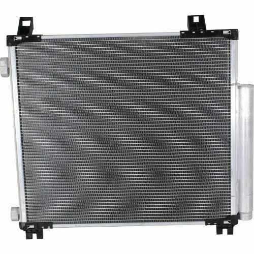 For Scion iQ 12-14 Factory Finish Aluminum A//C Condenser