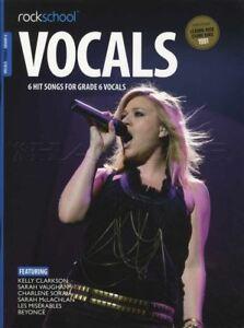 Rockschool Vocals Chanteuses Grade 6 Music Book With Audio Access-afficher Le Titre D'origine Avoir Un Style National Unique
