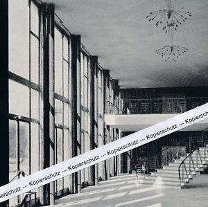 Göppingen - Die neue Stadthalle innen - um 1955 oder früher ?