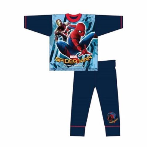 Boys Marvel Spiderman Homecoming New Movie Pyjamas Pjs Nightwear Age 4-10 Years