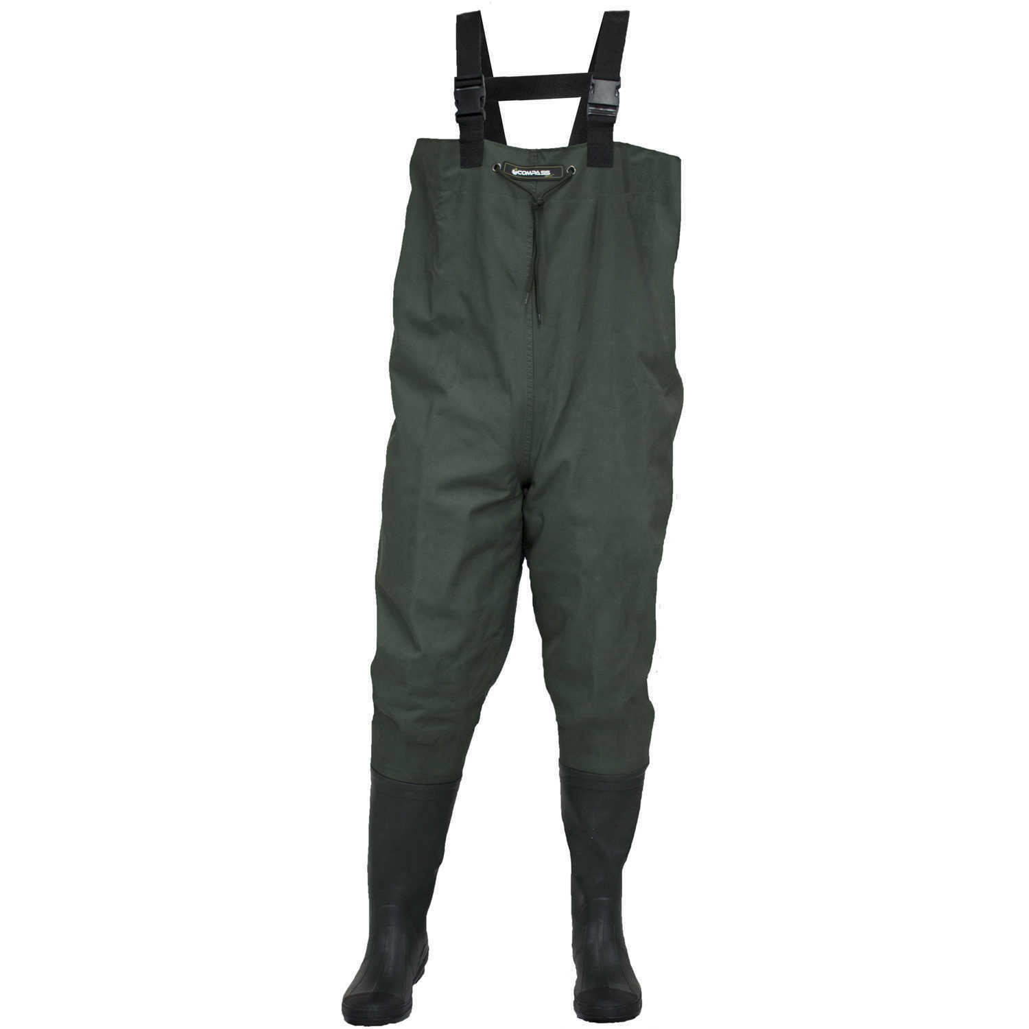 Compass 360 Oxbow Oxbow 360 Poly-Rubber Cleated Sole Chest Waders Größe 9 ea58ad