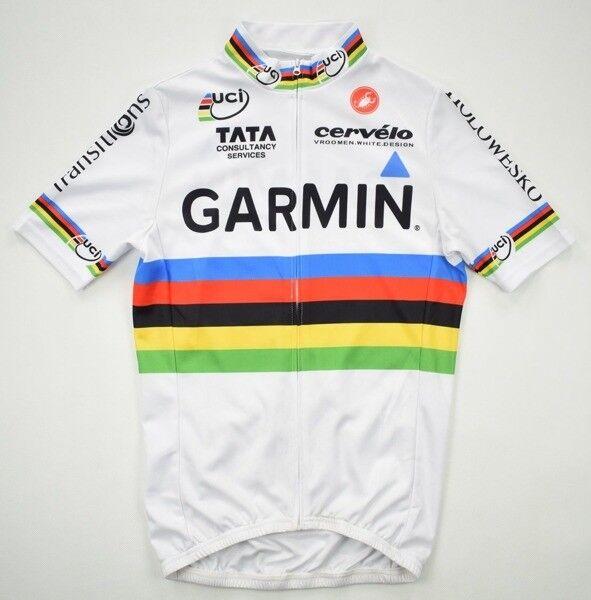 CASTELLI GARMIN CYCLING JERSEY S
