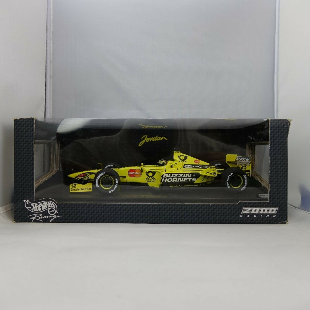 1 18, Signed, Heinz-Harald Frentzen, Jordan  Die Cast Formula 1 2000 Hand Signed