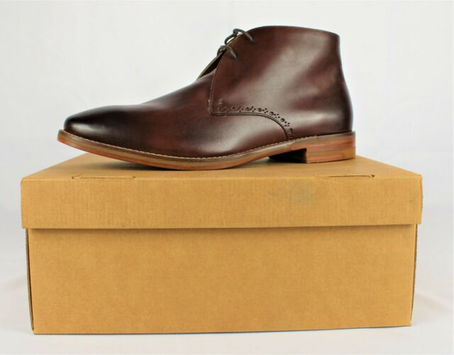 Cole Haan Grand Brown Ankle BOOTS 12m