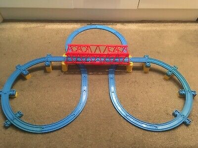 Blue Track with Risers and Bridge,Choose a Set Tomy Trackmaster Thomas Trainset