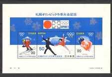 Japan 1972 Sports/Olympics/Skiing/Skating/Bobsled/Mt Fuji/Stadium 3v m/s n26763