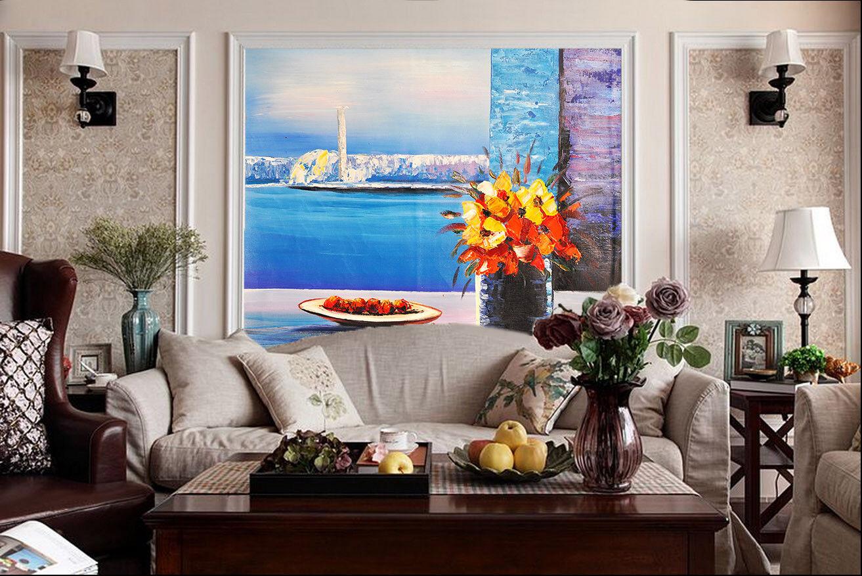 3D Szenisches Fenster 8 Tapete Wandgemälde Tapete Tapeten Bild Familie DE Summer