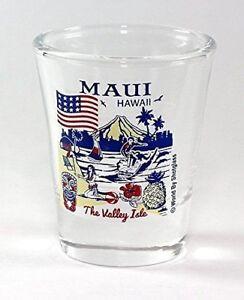MAUI-HAWAII-GREAT-AMERICAN-CITIES-COLLECTION-SHOT-GLASS-SHOTGLASS