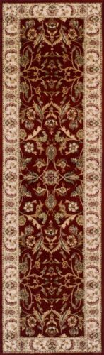 QUALITY RED CREAM Floral Traditional Persian Oriental Rug Runner 100/% Wool 35/%OF