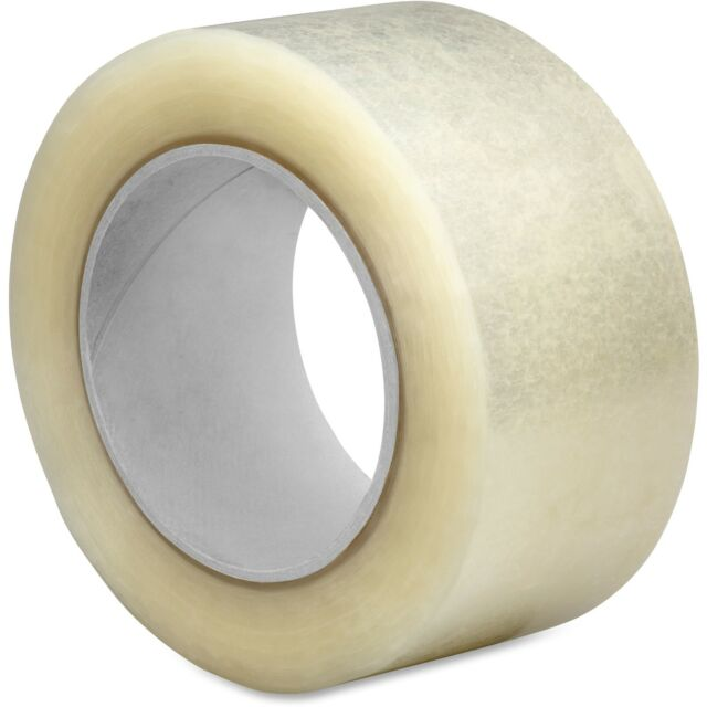 Sparco Hot Melt Packaging Tape, 2.5Mil, 2