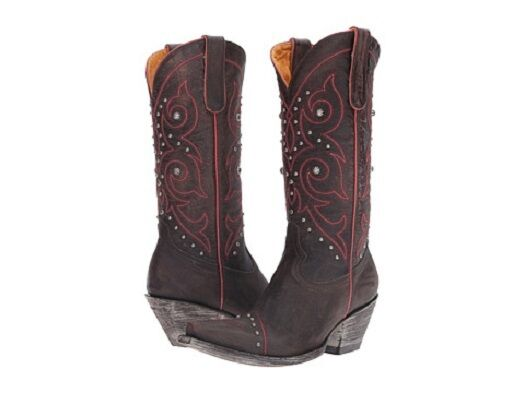 New in box Old Gringo Womens Marsell Stitch Zon Western Boot L2672-1 Size 10.5