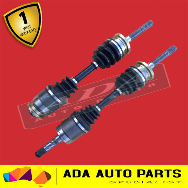 2 TOP QUALITY NEW CV JOINT DRIVE SHAFT MAZDA BRAVO 92-01 (PAIR)