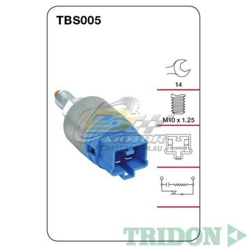 TRIDON STOP LIGHT SWITCH FOR Toyota Corolla 05030406 1.8L2ZZGE V