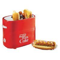 Nostalgia Electrics Coca-cola Series Pop-up Hot Dog Toaster W/ Tray & Basket