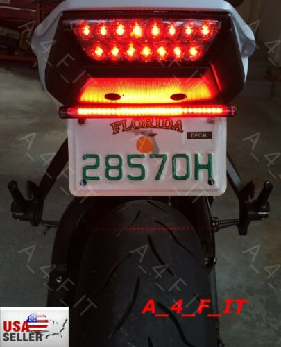 Motorcycle LED Turn Signal Tail Light For ATV UTV Truck  GO CART Buggy Bagger