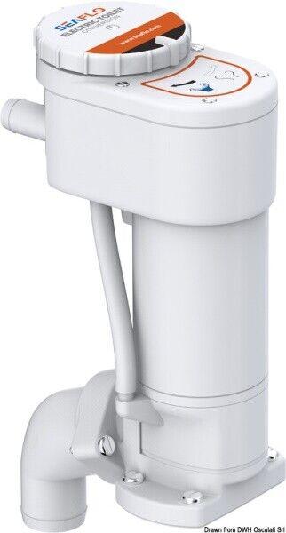 Osculati Kit elettrificazione 12V per WC manuale - wc toilette ed accessori