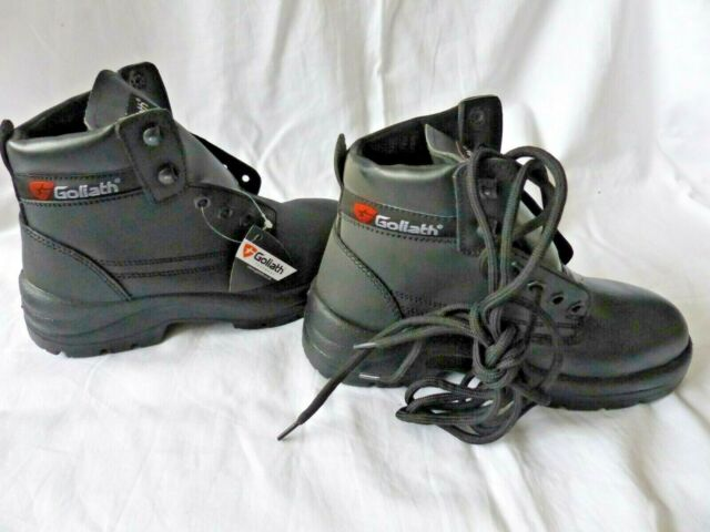 Worksite SS609SM Leather Work Hiker Safety Boot Steel Toe Cap