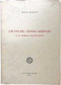 I buoni del tesoro ordinari e il debito fluttuante - Mario Marino - Pastena