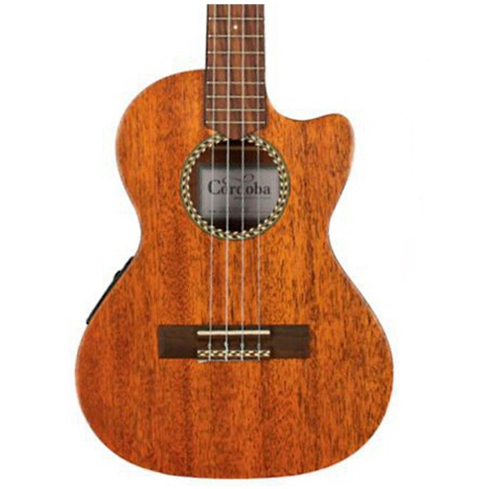 Cordoba 20TM-CE Tenor Cutaway Acoustic-Electric Ukulele Mahogany with Gig Bag