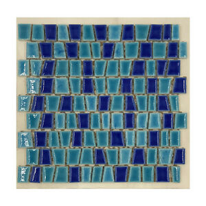 Turquoise Ceramic Tile by Ceramica Lord