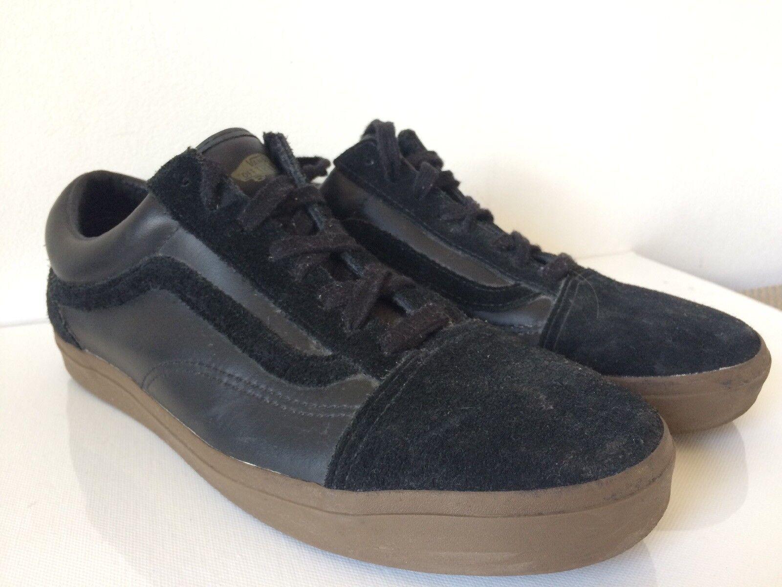 Supreme x Vans Old Skool '92 Zero Black  Gum F W 2010 size UK 8