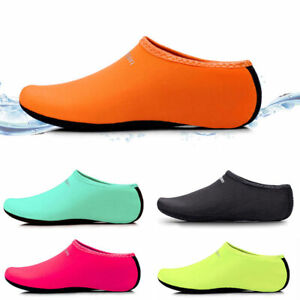 cc7f3c7bfee1 Men Women Water Shoes Aqua Sock Yoga Exercise Pool Beach Dance Swim ...