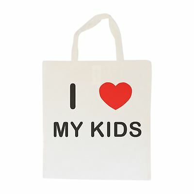 I Love My Kids - Cotton Bag | Size choice Tote, Shopper or Sling