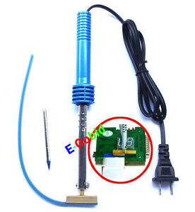 Electric-Welding-Tool-Soldering-T-Iron-Gun-Pencil-tip-Teflon-Rubber-Strip-40W