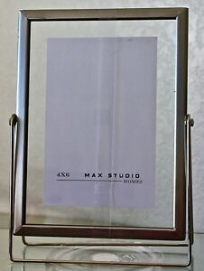 Max Studio Home Picture Frame 4 By 6 Metal New Ebay