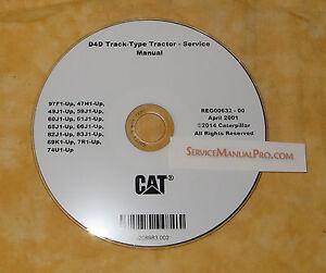 reg00632 caterpillar d4d track type tractor dozer service repair rh ebay com Caterpillar D4D Dozer Specifications Caterpillar D4